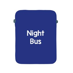 Night Bus New Blue Apple Ipad 2/3/4 Protective Soft Cases by Mariart