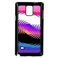 Mutare Mutaregender Flags Samsung Galaxy Note 4 Case (black) by Mariart