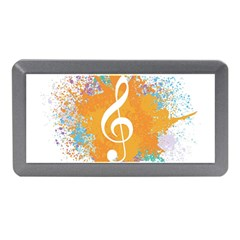 Musical Notes Memory Card Reader (mini) by Mariart