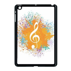 Musical Notes Apple Ipad Mini Case (black) by Mariart