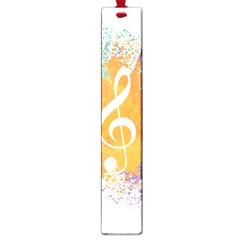 Musical Notes Large Book Marks by Mariart