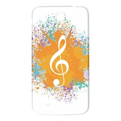 Musical Notes Samsung Galaxy Mega I9200 Hardshell Back Case by Mariart