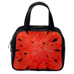 Summer Watermelon Design Classic Handbags (one Side) by TastefulDesigns