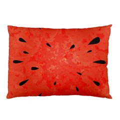Summer Watermelon Design Pillow Case (two Sides) by TastefulDesigns