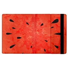Summer Watermelon Design Apple Ipad 2 Flip Case by TastefulDesigns