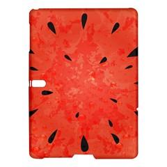 Summer Watermelon Design Samsung Galaxy Tab S (10 5 ) Hardshell Case  by TastefulDesigns