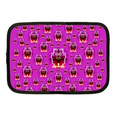 A Cartoon Named Okey Want Friends And Freedom Netbook Case (medium)  by pepitasart