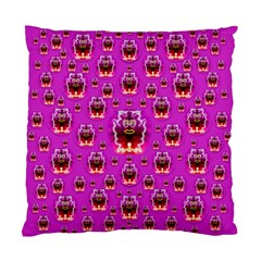 A Cartoon Named Okey Want Friends And Freedom Standard Cushion Case (two Sides) by pepitasart