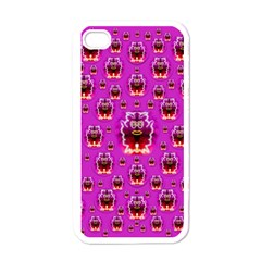 A Cartoon Named Okey Want Friends And Freedom Apple Iphone 4 Case (white) by pepitasart