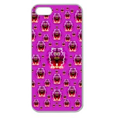 A Cartoon Named Okey Want Friends And Freedom Apple Seamless Iphone 5 Case (clear) by pepitasart