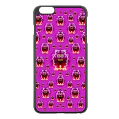 A Cartoon Named Okey Want Friends And Freedom Apple Iphone 6 Plus/6s Plus Black Enamel Case by pepitasart