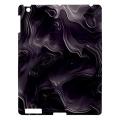 Map Curves Dark Apple iPad 3/4 Hardshell Case by Mariart