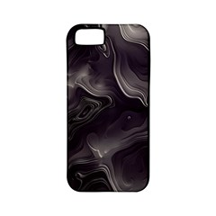 Map Curves Dark Apple Iphone 5 Classic Hardshell Case (pc+silicone) by Mariart