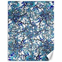 Modern Nouveau Pattern Canvas 12  X 16   by dflcprints