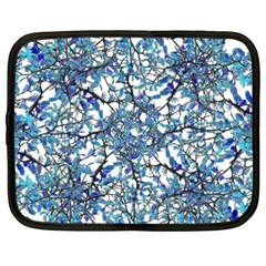 Modern Nouveau Pattern Netbook Case (xxl)  by dflcprints