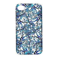 Modern Nouveau Pattern Apple Iphone 4/4s Hardshell Case With Stand by dflcprints