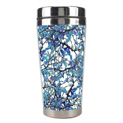 Modern Nouveau Pattern Stainless Steel Travel Tumblers by dflcprints