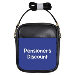 Pensioners Discount Sale Blue Girls Sling Bags by Mariart