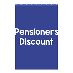 Pensioners Discount Sale Blue Shower Curtain 48  X 72  (small)  by Mariart