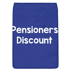 Pensioners Discount Sale Blue Flap Covers (s)