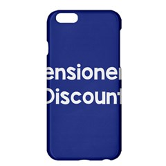 Pensioners Discount Sale Blue Apple Iphone 6 Plus/6s Plus Hardshell Case by Mariart