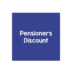 Pensioners Discount Sale Blue Satin Bandana Scarf by Mariart