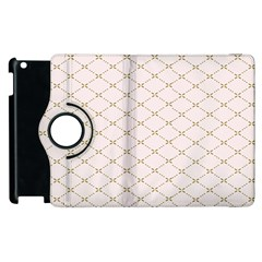 Plaid Star Flower Iron Apple Ipad 2 Flip 360 Case by Mariart