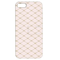 Plaid Star Flower Iron Apple Iphone 5 Hardshell Case With Stand by Mariart