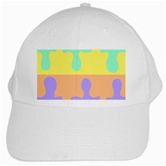 Puzzle Gender White Cap by Mariart