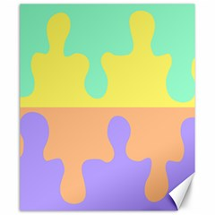 Puzzle Gender Canvas 20  X 24   by Mariart