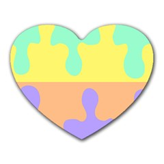 Puzzle Gender Heart Mousepads by Mariart