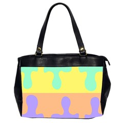 Puzzle Gender Office Handbags (2 Sides)  by Mariart