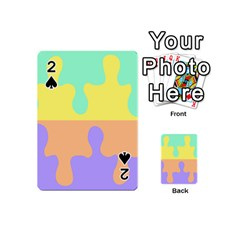 Puzzle Gender Playing Cards 54 (mini)  by Mariart