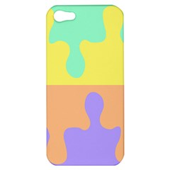 Puzzle Gender Apple Iphone 5 Hardshell Case by Mariart