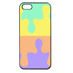 Puzzle Gender Apple Iphone 5 Seamless Case (black) by Mariart