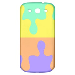 Puzzle Gender Samsung Galaxy S3 S Iii Classic Hardshell Back Case by Mariart