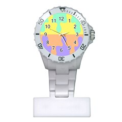 Puzzle Gender Plastic Nurses Watch by Mariart