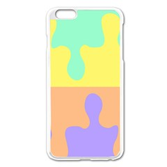 Puzzle Gender Apple Iphone 6 Plus/6s Plus Enamel White Case