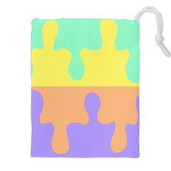 Puzzle Gender Drawstring Pouches (xxl) by Mariart