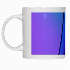 Line Blue Light Space Purple White Mugs by Mariart