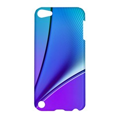 Line Blue Light Space Purple Apple Ipod Touch 5 Hardshell Case by Mariart