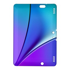 Line Blue Light Space Purple Kindle Fire Hdx 8 9  Hardshell Case by Mariart