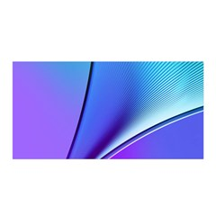Line Blue Light Space Purple Satin Wrap by Mariart