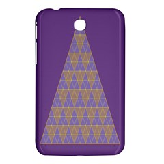 Pyramid Triangle  Purple Samsung Galaxy Tab 3 (7 ) P3200 Hardshell Case  by Mariart