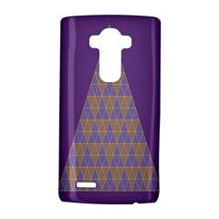 Pyramid Triangle  Purple Lg G4 Hardshell Case by Mariart