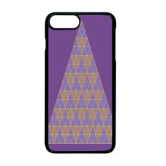 Pyramid Triangle  Purple Apple Iphone 7 Plus Seamless Case (black) by Mariart