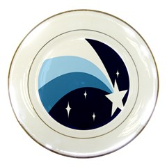 Star Gender Flags Porcelain Plates by Mariart