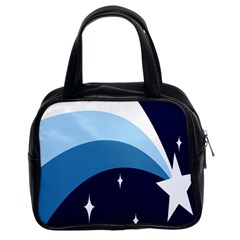 Star Gender Flags Classic Handbags (2 Sides) by Mariart