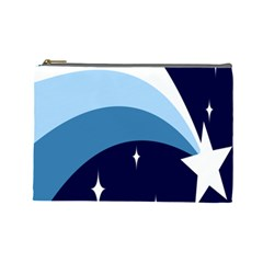 Star Gender Flags Cosmetic Bag (large)  by Mariart
