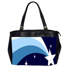 Star Gender Flags Office Handbags (2 Sides)  by Mariart